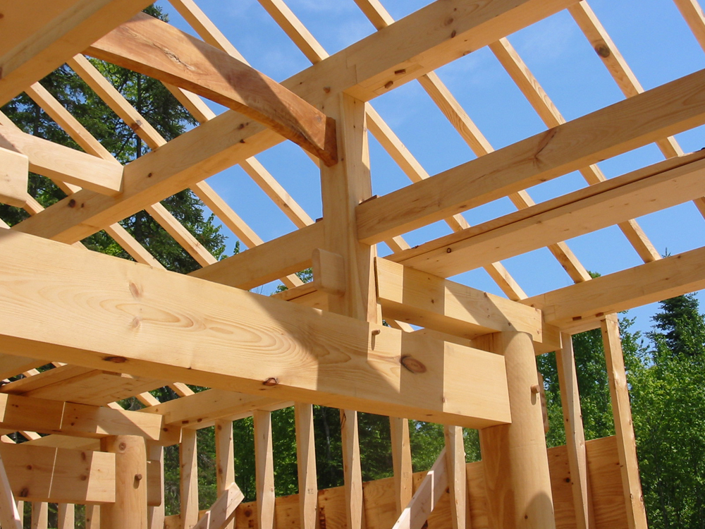 Asian and japanese timberframe design groton timberworks for Timber framing plans