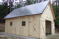 Timberframe Sheds & Garages | Groton Timberworks
