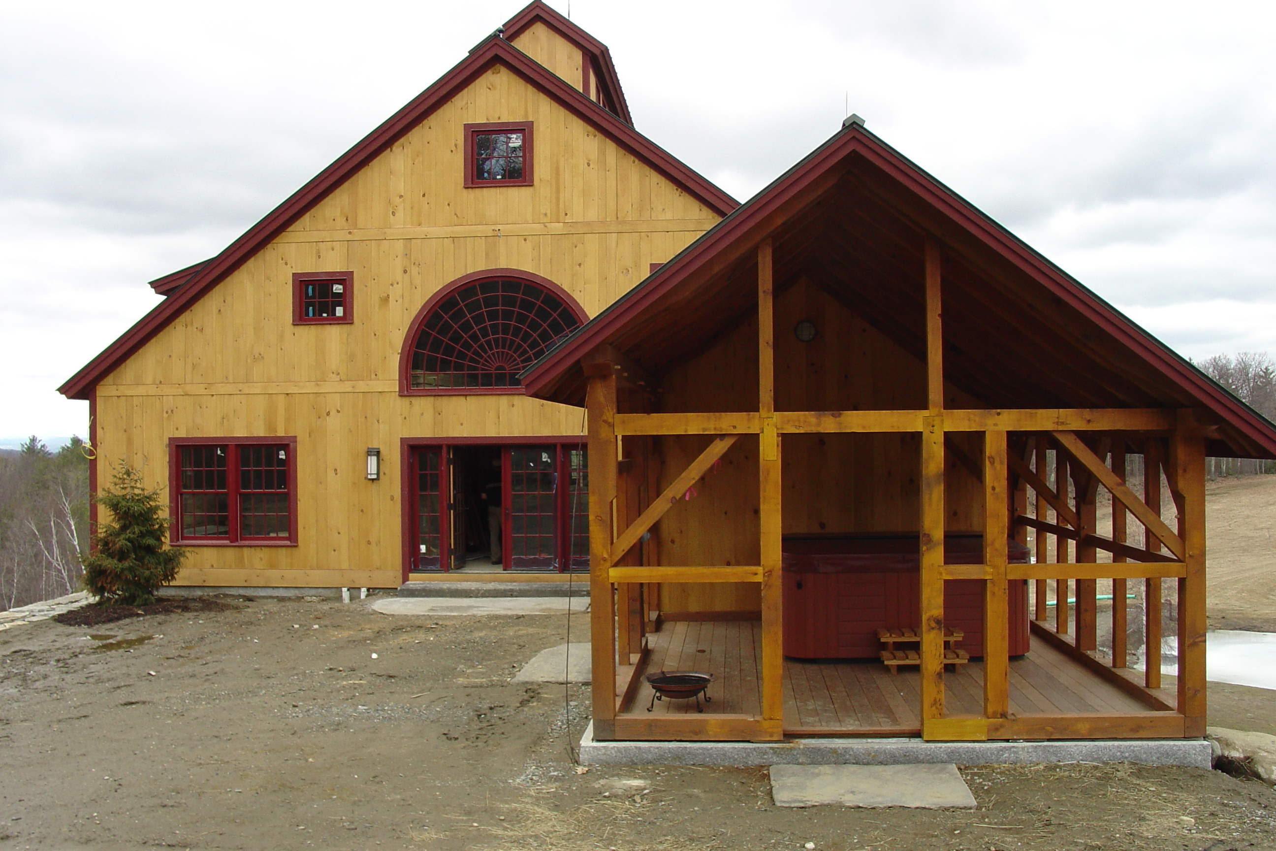youtube barns watch playhouses financed owner more and cabins sheds